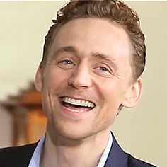 BuzzFeed: This video of Tom Hiddleston laughing at a YouTube mashup of himself laughing is pretty much the greatest thing ever. https://www.buzzfeed.com/ellievhall/tom-hiddleston-laughing-at-a-video-of-himself-laughing-is-th?utm_term=.wn5QJKm0l#.wn5QJKm0l
