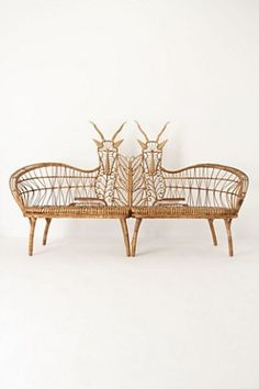 anthropologie springbok benches by bonnie