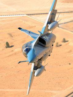 Fighter Jet Aircraft Banking Sharply