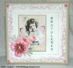 Kristins lille blogg: Enkelt bursdagskort