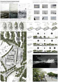 New Ideas Landscape Architecture Panel Presentation Boards Poster Architecture, Villa Architecture, Landscape Architecture Design, Architecture Drawings, Computer Architecture, Project Presentation, Presentation Layout, Presentation Boards, Ideas Paneles