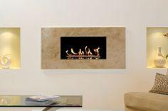 Ashbourne contemporary fireplace