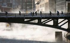 Political divide over climate change remains after polar vortex Arctic Landscape, Chicago Skyline, Chicago Usa, Chicago Winter, Chicago Photos, My Kind Of Town, Park City, Winter Snow, Beautiful World
