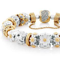 Flourish collection by Emma & Roe Fashion Jewellery Online, Beauty Full, Jewelry Patterns, Charm Bracelets, Flourish, Pandora Charms, Jewelery, Rose Gold, Schmuck
