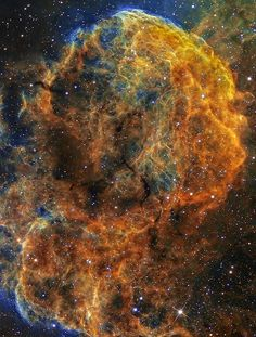 IC 443 The Jellyfish Nebula | Tumblr