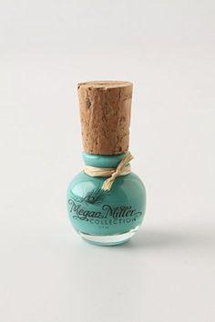 Gorgeous nail polish bottle.