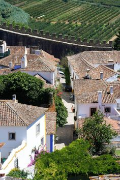 Walled town - Óbidos Portugal