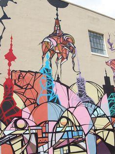 Daniel Anguilu Famous Monsters. Lawndale Art Center, Houston, TX