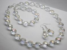 komplet od kristalnih perli