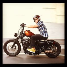 Cruzin on my sportster