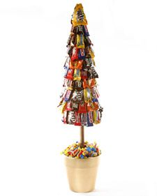 Dylan Lauren, daughter of Ralph Lauren and founder of Dylan's Candy Bar, shows how to make a candy topiary.