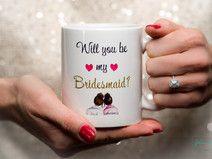 Will you be my Bridesmaid? Trauzeugin Kaffeetasse