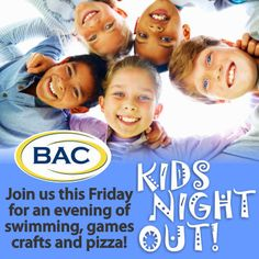Enjoy your own personal time while your kids have their own night out at Beverly Athletic Club