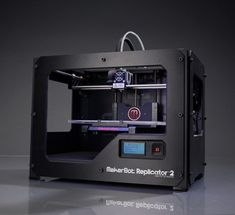 makerbot replicator 2 - three dimensional printer