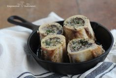 Bone marrow is a superfood prized by cultures across the globe. Try this melt-in-your-mouth Herb Roasted Bone Marrow recipe.