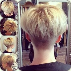#undercut #textured #movement #volume #shorthair #lettheweekbegin #workbyjadefox