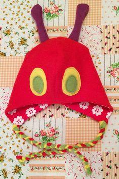 Raupen Mütze - MiToSa-kreativ: Meine kleine freche Raupe Nimmersatt Mini Tutorial (Ohne Mützenschnitt)