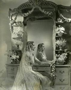 View Fashion for Vogue by Cecil Beaton on artnet. Browse upcoming and past auction lots by Cecil Beaton. Vintage Wedding Photography, Vintage Wedding Photos, Vintage Bridal, Wedding Pictures, Vintage Photos, Antique Pictures, Vintage Weddings, Cecil Beaton, Wedding Bride