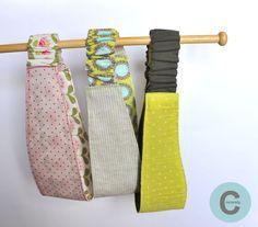 Un joli bandeau réversible à coudre !   Le tuto est par ici : http://makeri.st/coudre-un-bandeau