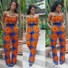 Looking good and African fashion is all about developing a style that flatters your figure and brings out the beauty and salient features in you. For many, their fashion scope… Ankara Styles For Women, African Dresses For Women, African Attire, African Wear, African Fashion Dresses, Ankara Fashion, African Outfits, African Clothes, African Style