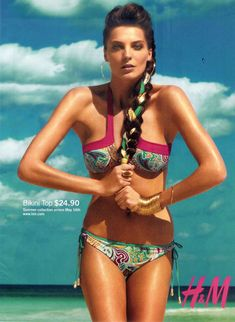 Love the idea of incorporating a headscarf into a braid at the beach.