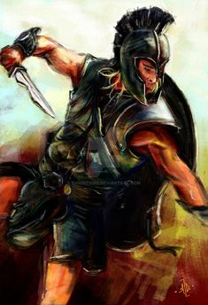 Brad Pitt as Achilles in the epic movie Troy Achilles - Troy Troy Movie, Epic Movie, Troy Achilles, Greek Mythology Tattoos, Samurai, Fighting Poses, Greek Warrior, Cute Disney Drawings, The Legend Of Heroes