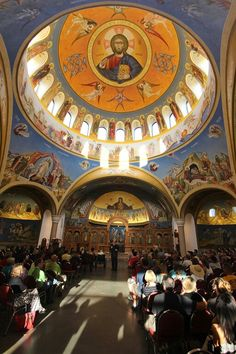 The glorious beauty of Holy Trinity Greek Orthodox Church @indygreekfest in Carmel Indiana.