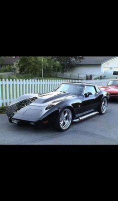 Shiny corvette