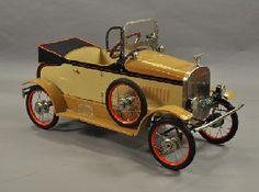 *PEDAL CAR ~ D. Kaufman collection,