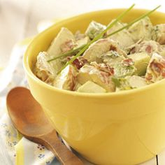 Avocado Potato Salad Recipe from Taste of Home -- shared by Beryl Wallace of Victoria, Australia