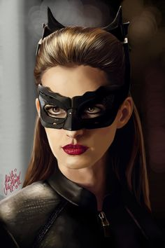 Anne Hathaway's Catwoman by *SilkSpectreII on deviantART (Guh, this is unbelievably gorgeous.) #DarkKnightRises #Catwoman