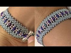 Potawatomi Stitch Bracelet Variation - YouTube