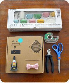 Heart Handmade UK: Party Decoration DIY | Hot Air Balloon Ikea Hack DIY Tutorial from Next to Nicx