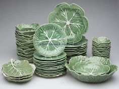 I have a few pieces of this Bordallo Pinheiro dinnerware - I really love it!