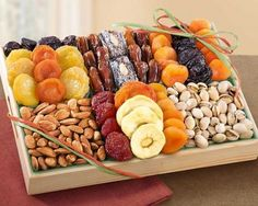 Dried Fruit & Nut Gift Tray for Passover