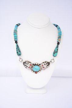 Turquoise Double Dragon Necklace. Tibetan Dragon Necklace. Dragon Necklace. Dragon Pendant.Dragon Jewelry. Fantasy Jewelry. Men's Jewelry. by flashinfashinjewelry. Explore more products on http://flashinfashinjewelry.etsy.com