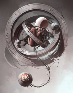 Surround, Derek Stenning on ArtStation at https://www.artstation.com/artwork/ek_surround