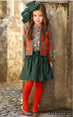 Осенняя коллекция детской линии Oscar de la Renta Kids / деиская коллекция оскар да рента
