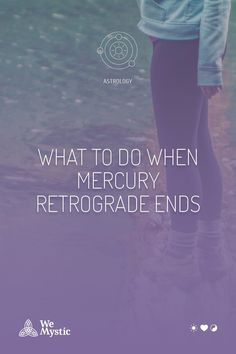 Among all the articles written about retrogradation, what about one that covers what to do when Mercury retrograde ends? That's exactly what is missing and we want to give you a hand organizing your agenda. As you know, Mercury retrograde as an overall influence on the universe. Mercury Retrograde Dates, Retrograde Motion, Romantic Breaks, Travel Tickets, What Is Miss, Astrology And Horoscopes, Throw A Party, Article Writing, Bad News