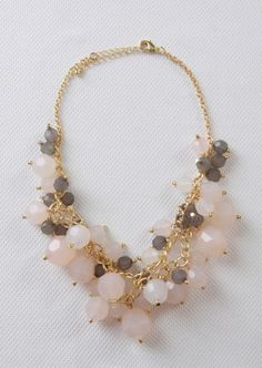 Chunky Beaded Necklace~<3