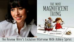 An Interview With Children's Author and Illustrator @ashleyspires