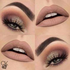 Glitter Eye Makeup, Eyeshadow Makeup, Lip Makeup, Beauty Makeup, Party Eye Makeup, Maybelline Eyeshadow, Dark Eyeshadow, Beauty Dupes, Drugstore Makeup