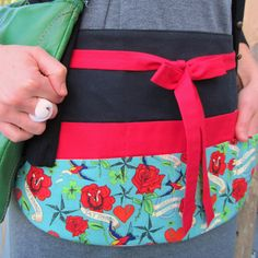 Luck and Tattoos Utility Apron with Six Pockets in by Foodphyte