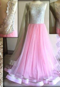 Buy Pink Color Net Gown Online at Bogglingshop.com