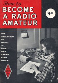 """Old Copy Of the ARRL """"How To Become A Radio Amateur"""" book.  This is my orginal study aid in 1968 n0aji"""