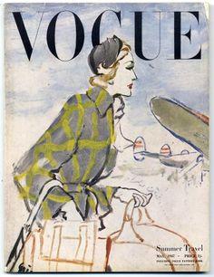 British Vogue May 1947 Summer Travel Eric