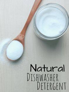 Is your dishwasher actually cleaning your dishes? Try a natural dishwasher detergent for sparkling clean dishes! Cleaning Recipes, Natural Cleaning Products, Cleaning Hacks, Natural Products, Green Products, Household Products, Cleaning Solutions, Homemade Dishwasher Detergent, Fitness Models
