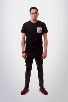 Inkognito T-Shirt Zwart