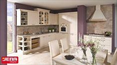 Kuchyně a kuchyňské linky JENA-nábytek Kitchen Cabinets, Table, Furniture, Home Decor, Decoration Home, Room Decor, Kitchen Base Cabinets, Tables, Home Furnishings