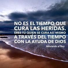 Las heridas las cura Dios!